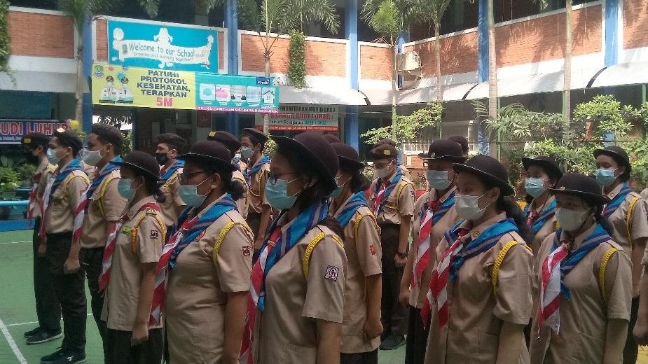 Pangkalan SMK Strada Budi Luhur Punya Dewan Kerja Ambalan Baru