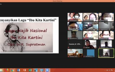 Serunya Peringatan Hari Kartini Secara Virtual